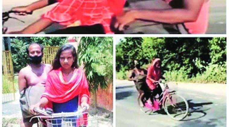 Girl cycles father 1,200 km to Bihar — and hope follows