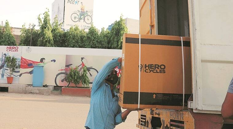 Green shoots: Hero Cycles rolls out its first consignment from Ludhiana, Bihar