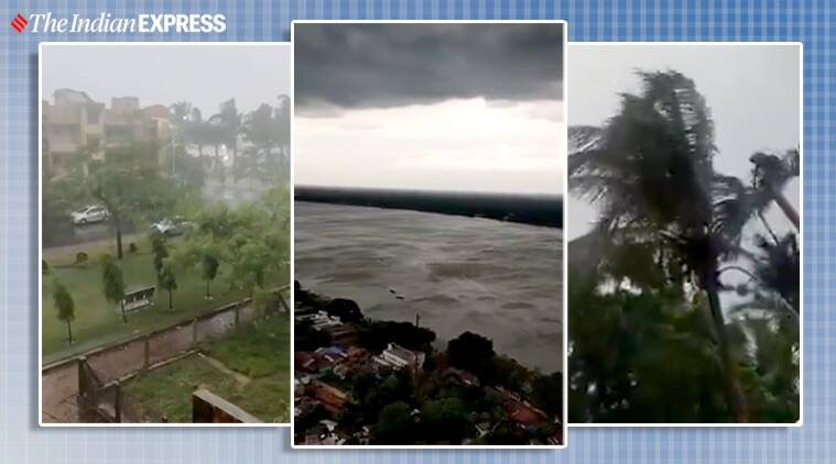 weather, weather forecast, Cyclone Amphan, Cyclone Amphan tracker, Paradip, Odisha, Digha, West Bengal, twitter reactions, viral videos, trending, indian express, indian express news