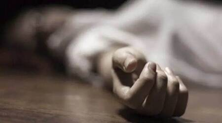 coronavirus death, Raghuveer Chaudhary, Jnanpith award winner, wife dies, Ahmedabad news, indian express news