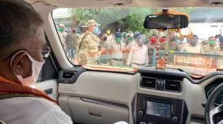 Cyclone Amphan: Bengal BJP chief Dilip Ghosh stopped from visiting South 24 Parganas