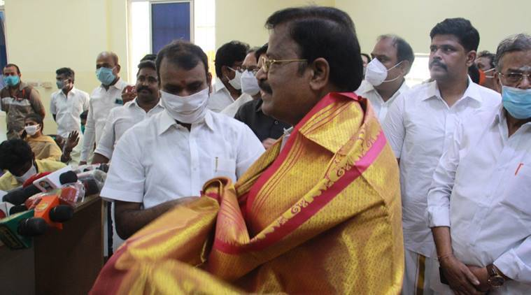 VP Duraisamy joins bjp, dmk leader VP Duraisamy joins bjp, tamil nadu bjp, dmk leader mk stalin,