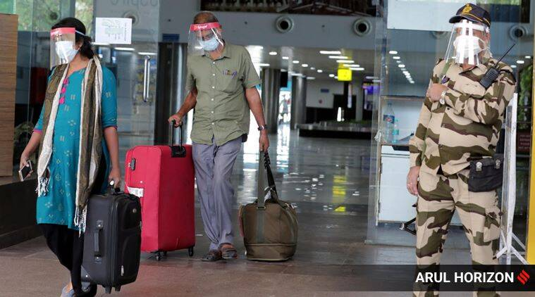 domestic flights resume, domestic flights lockdown, lockdown 4, day 1 domestic flights, non metro cities highest demand, coronavirus delhi news, coronavirus delhi cases, coronavirus delhi deaths, coronavirus India news, delhi city news, indian express news
