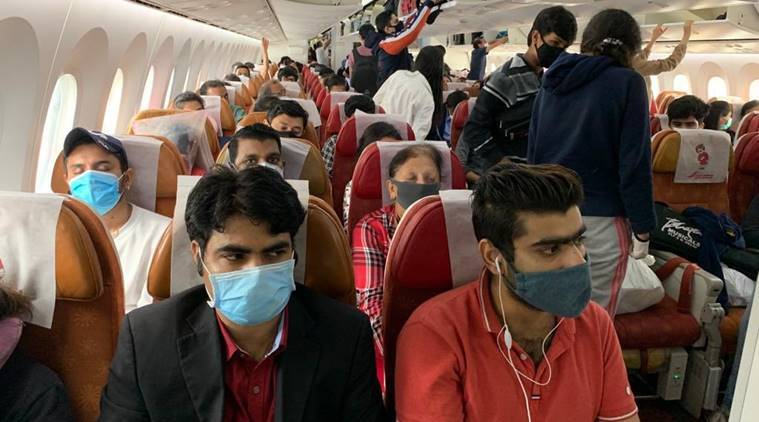coronavirus, covid 19, covid 19 news, india mega evacuation, vande bharat mission, Evacuation operation of Indians, airlift of indians, coronavirus, coronavirus live, indian evacuation, cochin airport, indians stuck abroad, india coronavirus, coronavirus india news, latest news, india news, covid 19 news