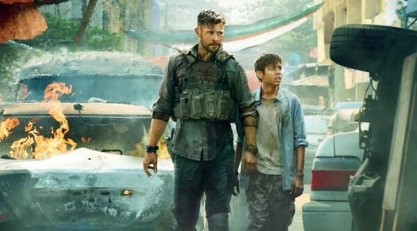 Chris Hemsworth S Extraction To Become The Biggest Film Ever Premiered On Netflix Entertainment News The Indian Express