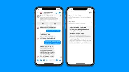 facebook messenger, messenger, messenger safety feature, messenger privacy feature, messenger scam protection, messenger scam alert, messenger spam alert