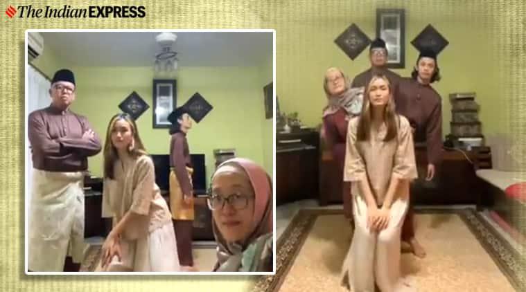 Eid, Eid moon, eid greeting, family dances on eid viral video, twitter, twitter reactions