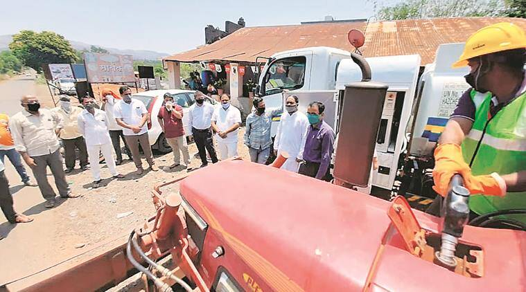 Pune farmers, Coronavirus crisis, Pune lockdown, Pune news, indian express news