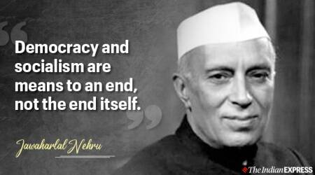 jawaharlal nehru, jawaharlal nehru quotes, indian express news