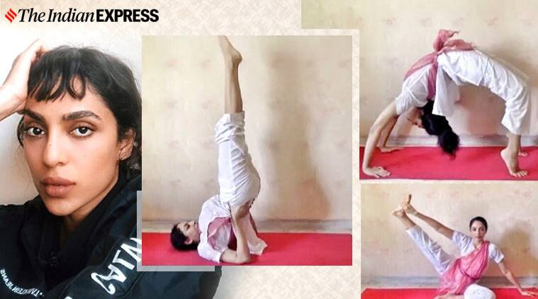 Sobhita Dhulipala Tries Tricky Yoga Poses Know Their Benefits Lifestyle News The Indian Express