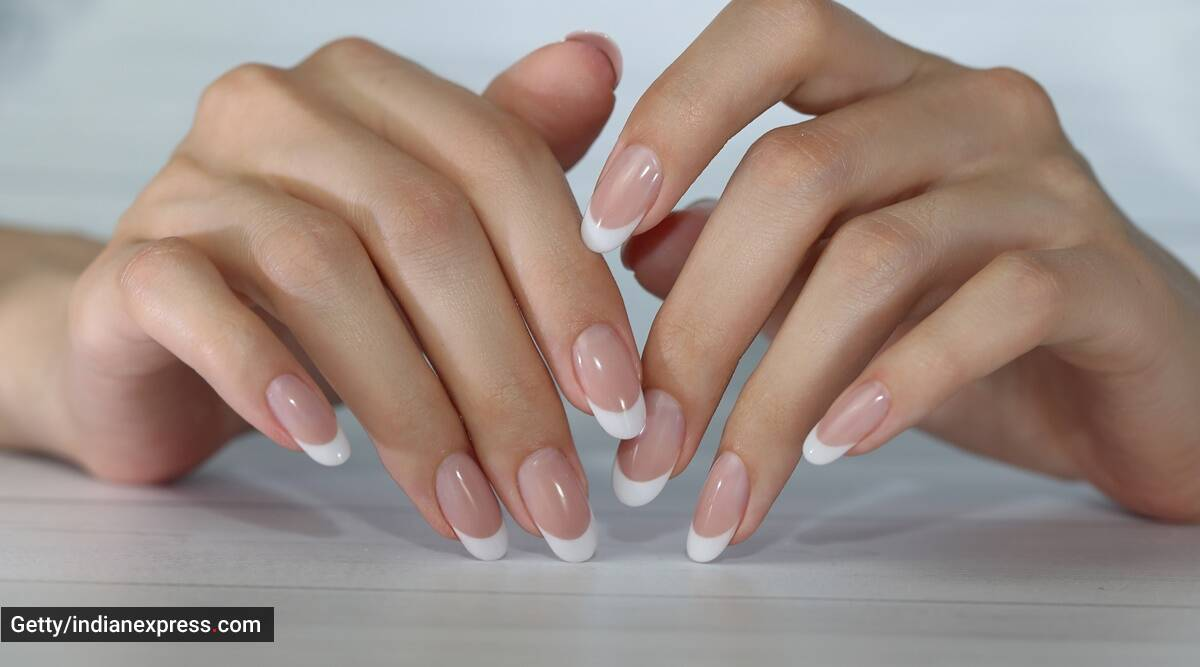 All you need is a band-aid to nail this French manicure hack   Lifestyle  News,The Indian Express