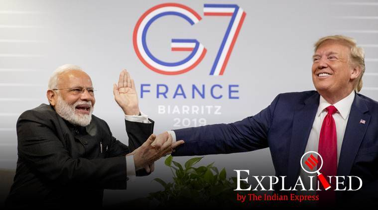G7, what is G7, G7 members, India G7, donald trump india G7 member, PM Narendra Modi at G7 summit, indian express, express explained, who are G7 members, how does G7 get new members