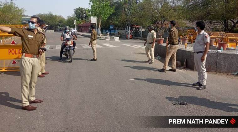 gurgaon lockdown, gurgaon delhi border, delhi border sealed, gurgaon lockdown guidelines, delhi city news, gurgaon news