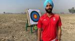 Hemmed-in by Covid curbs, champion para archer trains at farm
