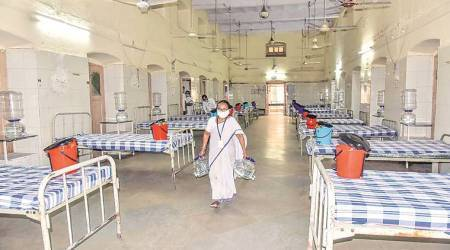 Coronavirus cases, covid 19 patients, Private hospital beds, Mumbai news, Indian express news
