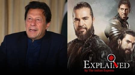 express explained, pakistan pm imran khan, turkish drama Diriliş: Ertuğrul, ramzan, netflix, Turkish actor Engin Altan Düzyatan, indian express