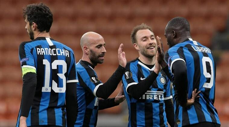 Inter Milan Players All Test Negative For Coronavirus Sports News The Indian Express