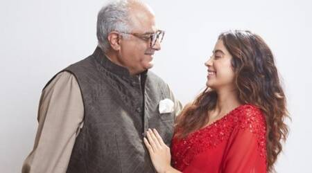 janhvi kapoor boney kapoor janhvi boney janhvi kapoor father