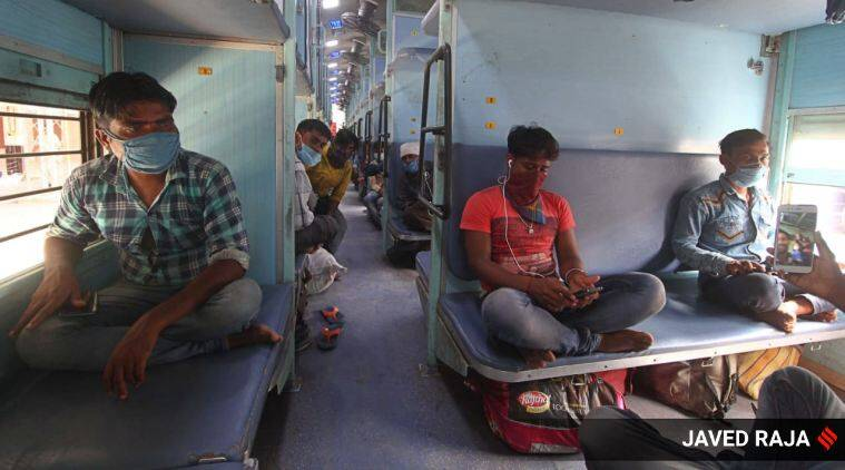 1.2 lakh migrants left Gujarat in 101 Shramik trains