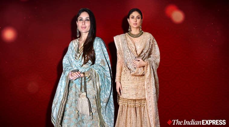 Kareena Kapoor, Kareena Kapoor fashion, Kareena Kapoor sharara, Kareena Kapoor suit said ali khan, Kareena Kapoor pictures, indian express news