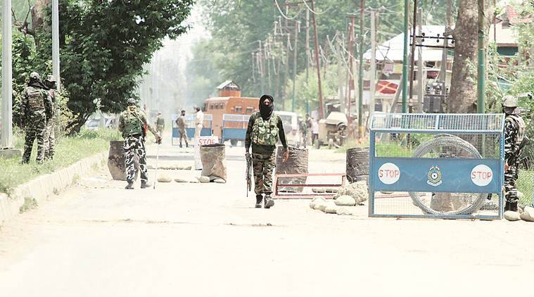 jammu and kashmir, youth killed in CRPF firing, Budgam protests, Budgam youth killed, Indian express