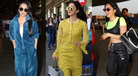 Airport looks: Kiara Advani knows how to move in comfort and style
