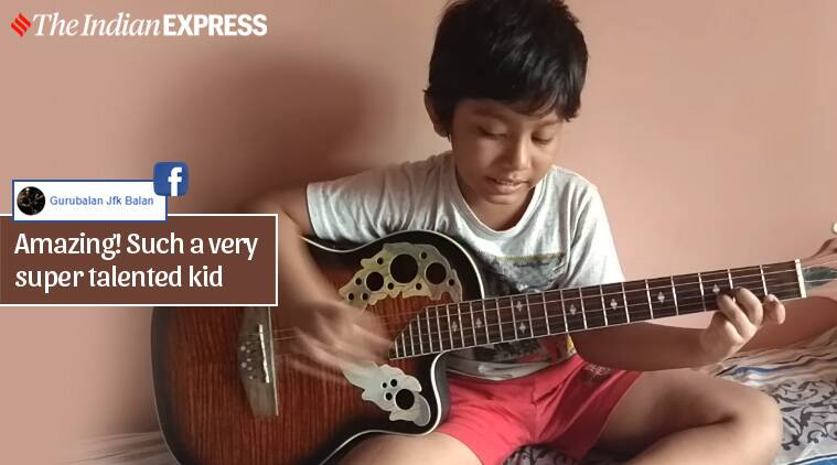 Viral Video: This little boy is driving lockdown blues away with his singing skills