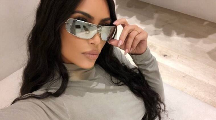 Kim Kardashian West triggers a face mask controversy - The Indian Express