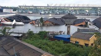 Amphan in Kolkata: Airport flooded, 5,000 trees uprooted; no power, phone, Internet connections