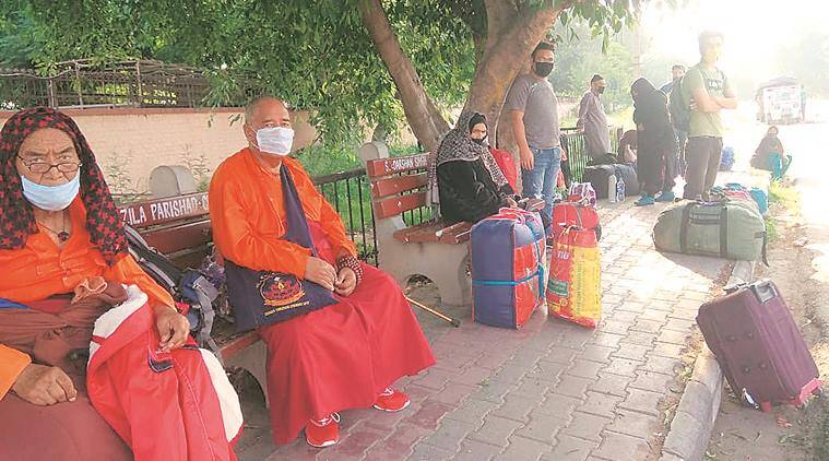 Chandigarh: First batch of Ladakh natives, including 12 patients, airlifted