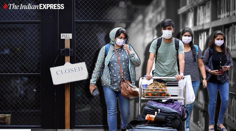 coronavirus lockdown, indians stuck abroad, indians stuck in uae, indians students abroad, plan to bring bacj indians, mea on indians stuck outside, indian express