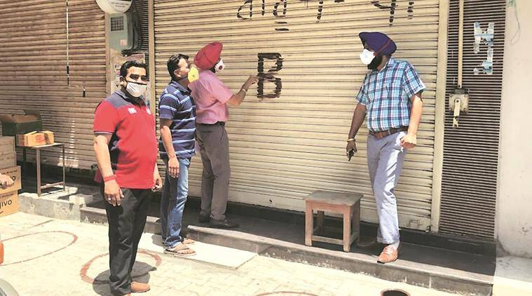 mohali shopkeepers, market timing, mohali news, chandigarh news, indian express news