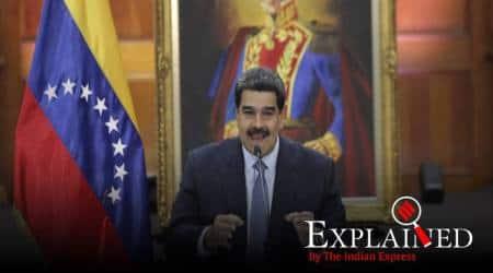 Nicolás Maduro, US nationals detained venezuela, US trying to topple govt Venezuela, Jordan Goudreau, Donald trump, indian express, express explained