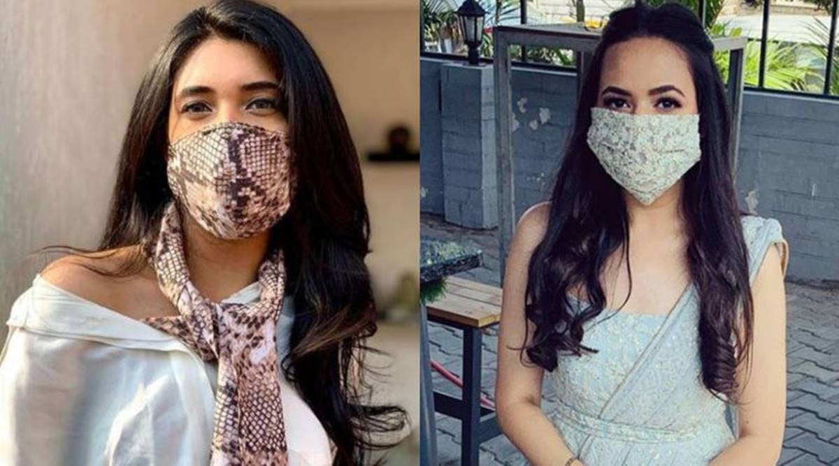 The Journey Of Covid Face Masks From Boring Monotones To Stylish And Designer Lifestyle News The Indian Express