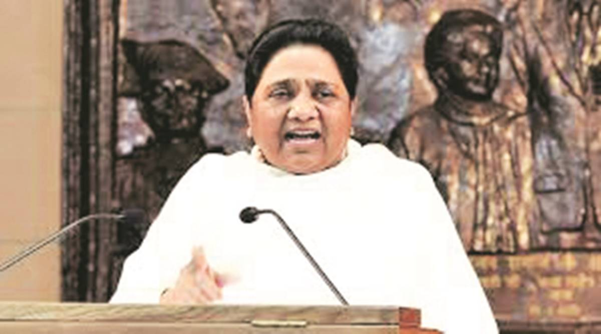 SP propagating lies about BSP MLA joining their party: Mayawati