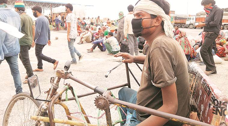 Coronavirus lockdown: From Delhi to Bihar on a hand-driven tricycle in two weeks