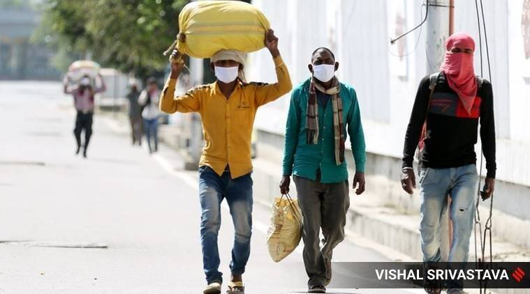 migrant workers walk home, aurangabad news, india news, coronavirus outbreak, shramik special trains, doctors, healthcare workers, migrant workers trains, india lockdown, irctc, indian railways, indian express
