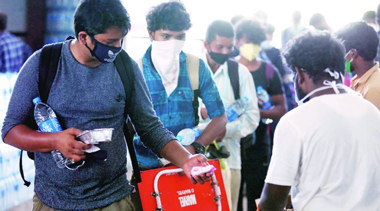 migrant workers, metro project, Ahmedabad news, Gujarat news, Indian express news