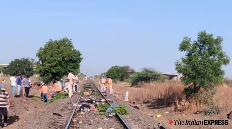 india lockdown, migrant workers, migrant workers killed, migrant workers accident, aurangabad train accident, indian express news