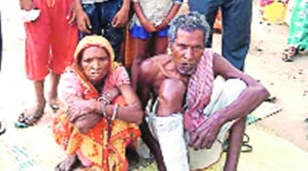 Bedridden migrant worker wheeled by kin to Jalandhar rly station, only to be 'chased away'