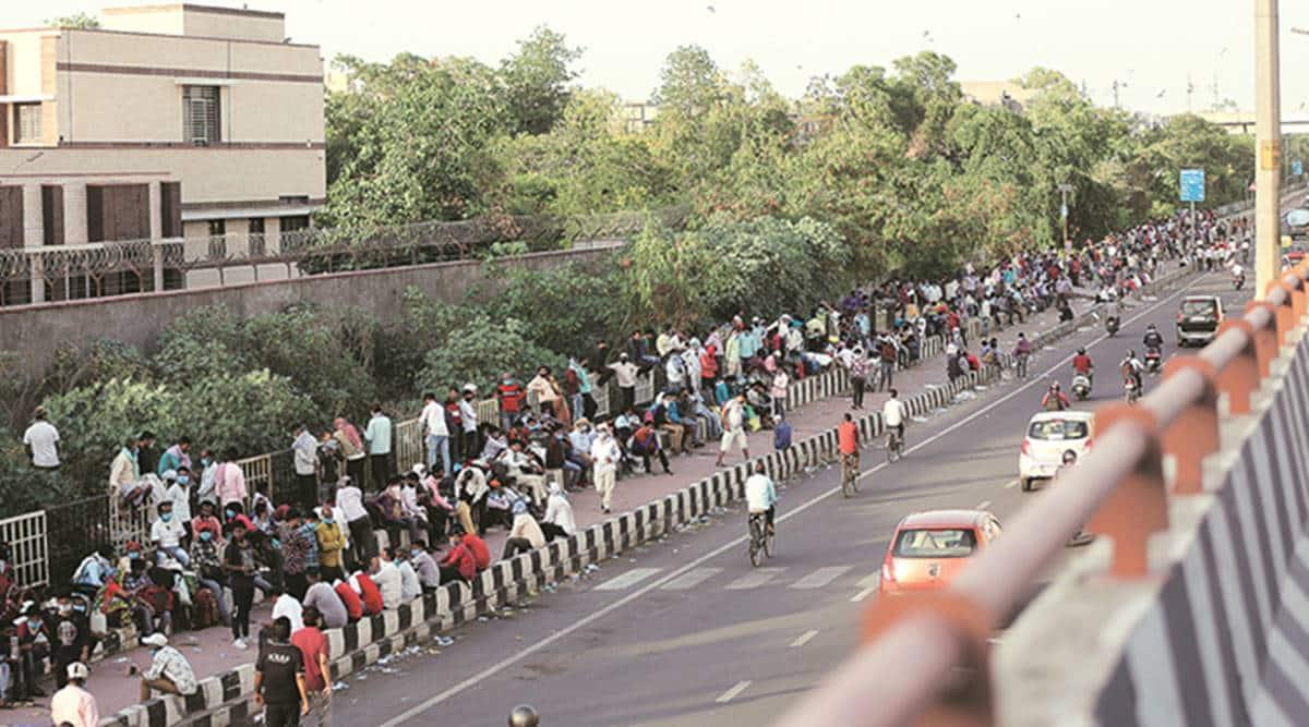 migrant labourers india lockdown, coronavirus lockdown migrant workers, migrant labourers data covid lockdown