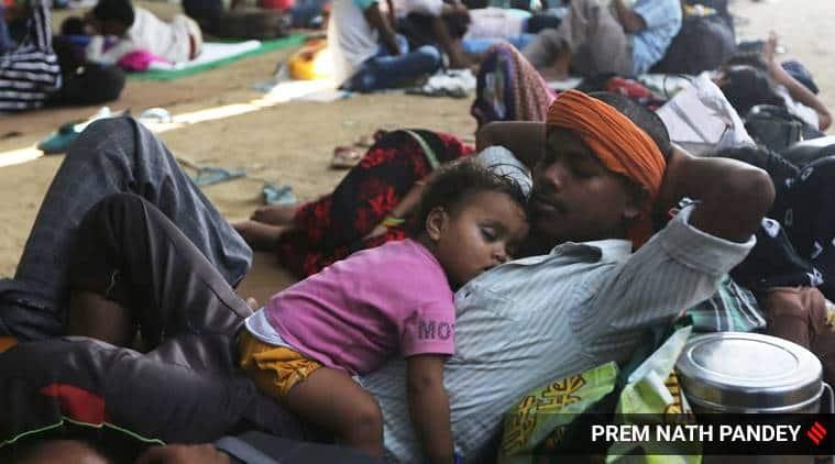 India lockdown, migrant labourers, migant labourers India lockdown, sharmik special trains, shramik trains, India news, Indian Express