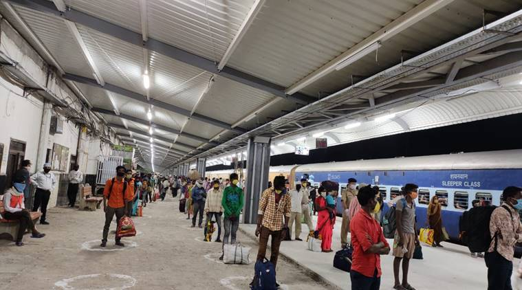 migrant labourers trains, hyderabad to bhopal migrants, india lockdown, lockdown migrant laboruers trains allowed, latest news, coronavirus news