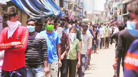 coronavirus, india lockdown, ministry of home affairs, migrant workers, migrant workers in maharashtra, india lockdown relaxation, maharashtra train for migrant, indian express news