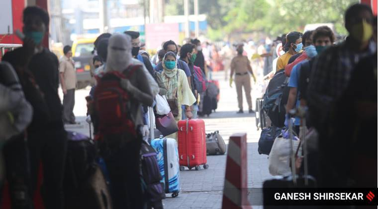 shramik special trains, mumbai trains, migrant labourers trains mumbai, mumbai news, latest news