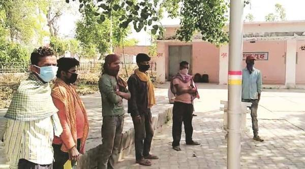 Migrant workers, train for workers, Punjab fields, Punjab news, Indian express news