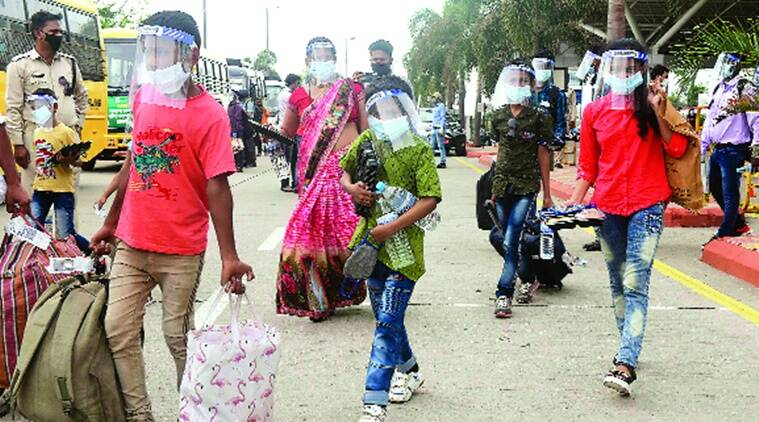 Back home migrant workers now wait for payment of dues