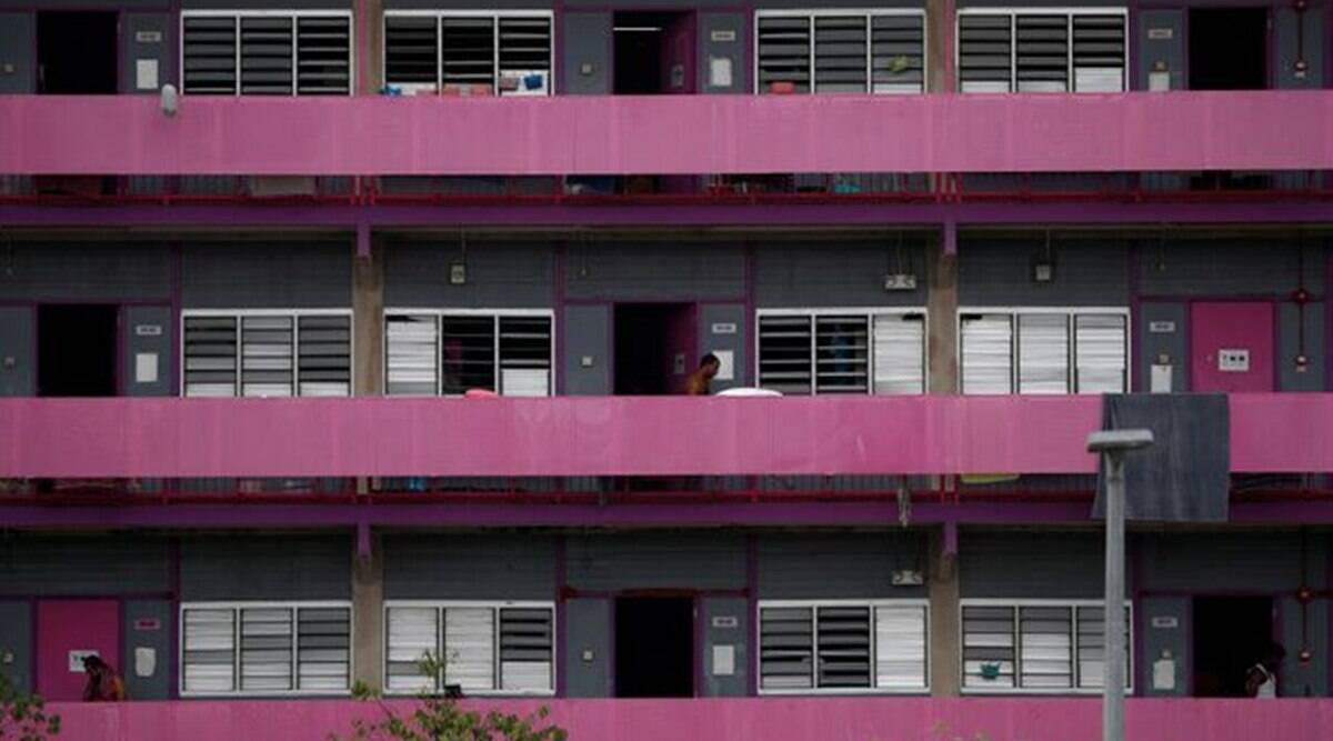 Half of Singapore's migrant workers in dormitories have had COVID-19