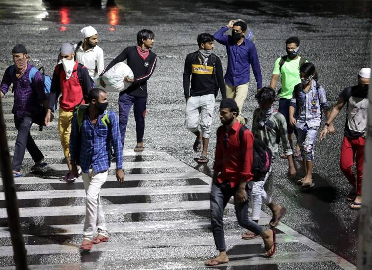 Centre to states: Ensure migrants don't walk home