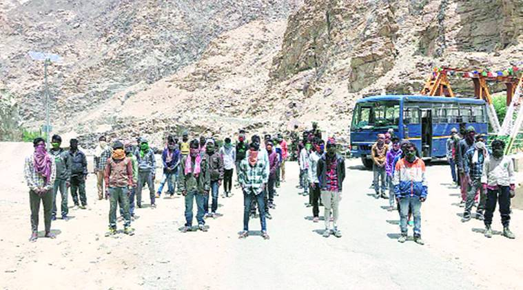 Jharkhand airlifts migrants, migrants airlifted by Jharkhand, India news, Indian Express